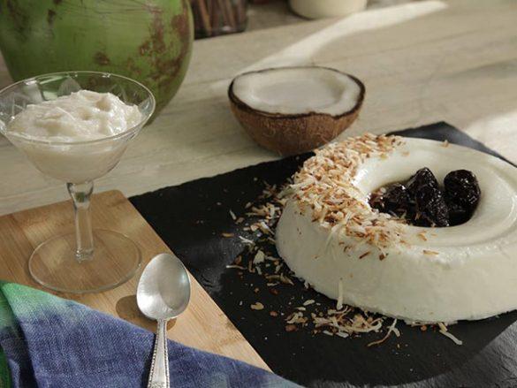manjar de água de coco