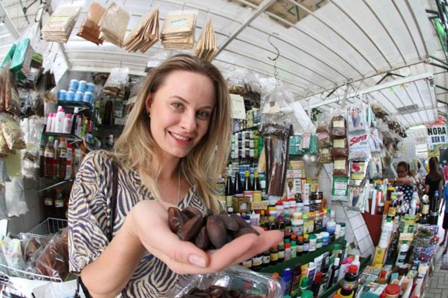 Em visita a Manaus, Luiza Hoffmann revela suas preferências da gastronomia local