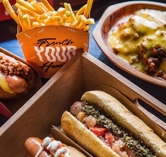 Já provou um hot dog de choripán?