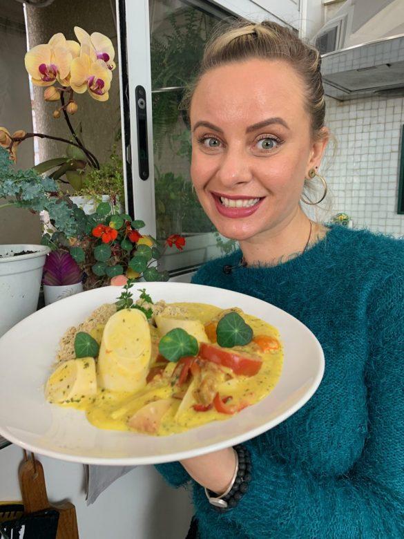 Moqueca Veggie Chef Luiza Hoffmann