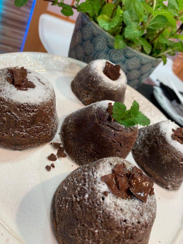 Petit Gâteau de chocolate Cheff Luiza Hoffmann